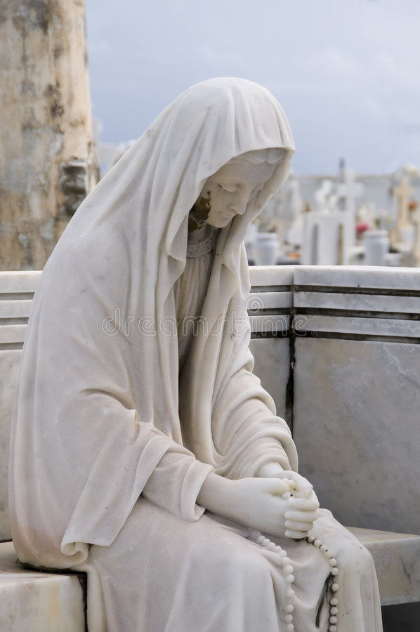 Im Gebet lizenzfreies stockfoto