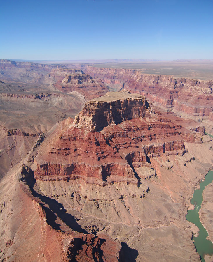 Im Grand Canyon lizenzfreie stockfotografie