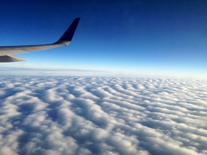 Im Himmel lizenzfreies stockfoto