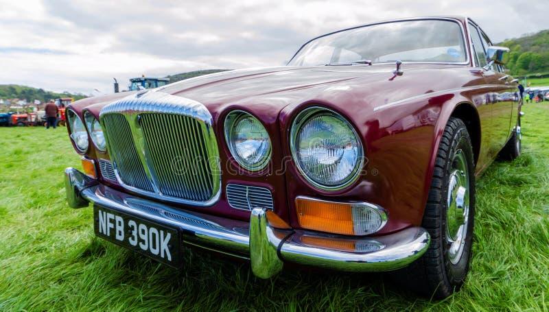 Im klassischen Automobilabschnitt des Llandudno-Transport-Festivals 2019 lizenzfreie stockfotos