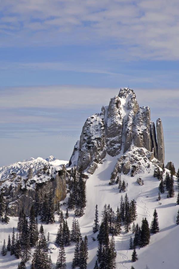 Download Im plankenstein zima zdjęcie stock. Obraz złożonej z szczyt - 13332776