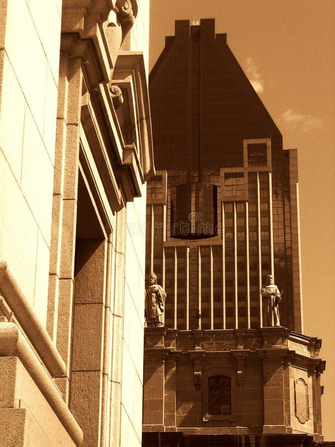 Im Stadtzentrum gelegen stockfoto