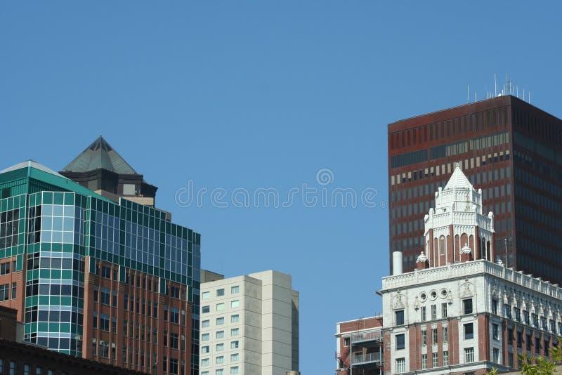 Im Stadtzentrum gelegen lizenzfreie stockfotografie