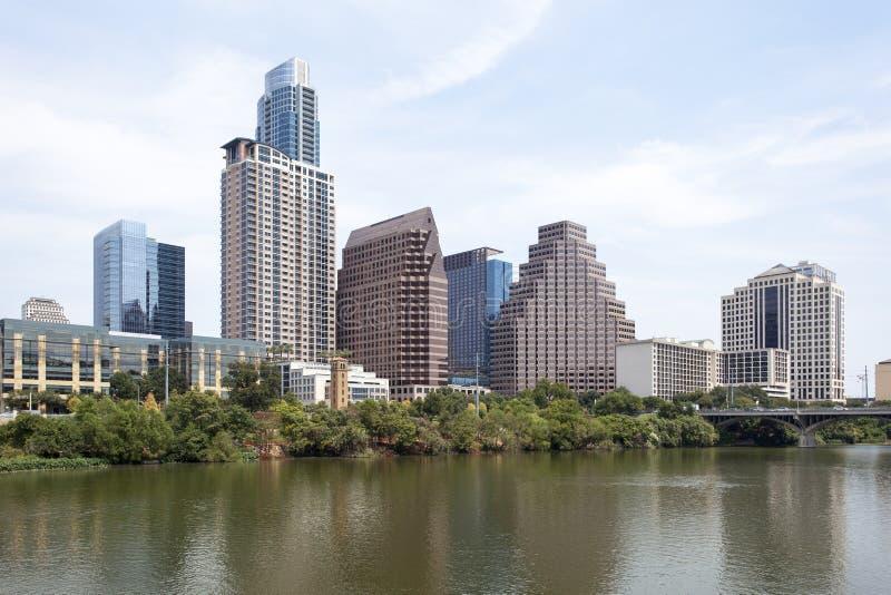 Im Stadtzentrum gelegenes Austin, Texas lizenzfreie stockfotos