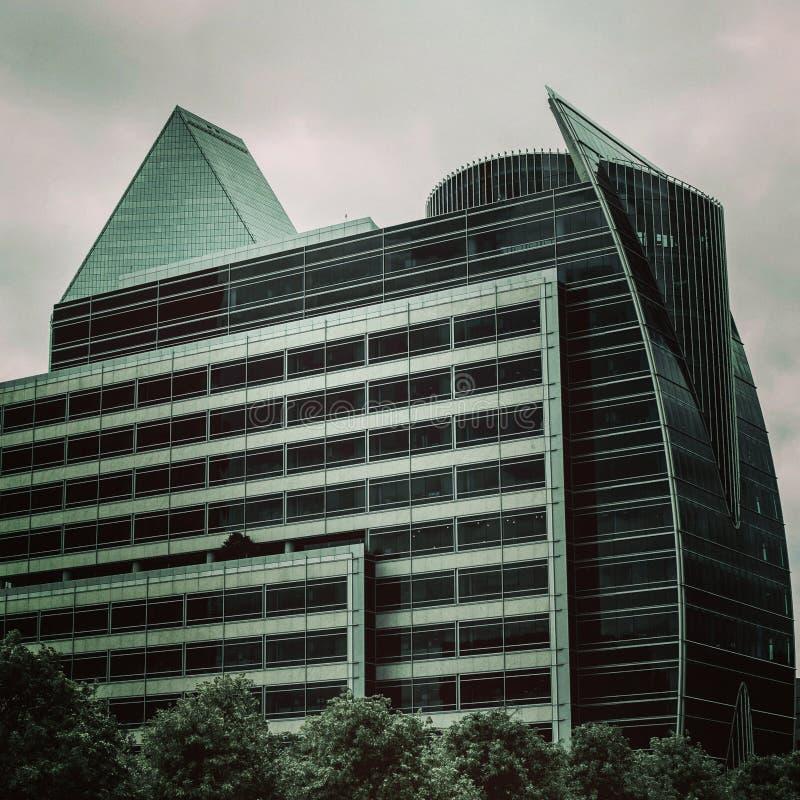 Im Stadtzentrum gelegenes Dallas stockfotos
