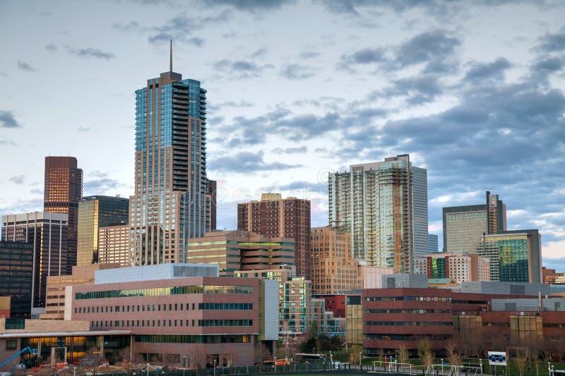 Im Stadtzentrum gelegenes Denver, Kolorado lizenzfreie stockfotos