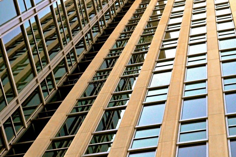 Im Stadtzentrum gelegenes Indianapolis-Gebäude stockbild