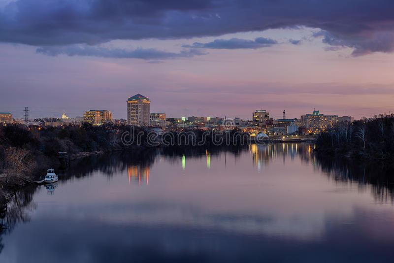 Im Stadtzentrum gelegenes Montgomery lizenzfreies stockfoto