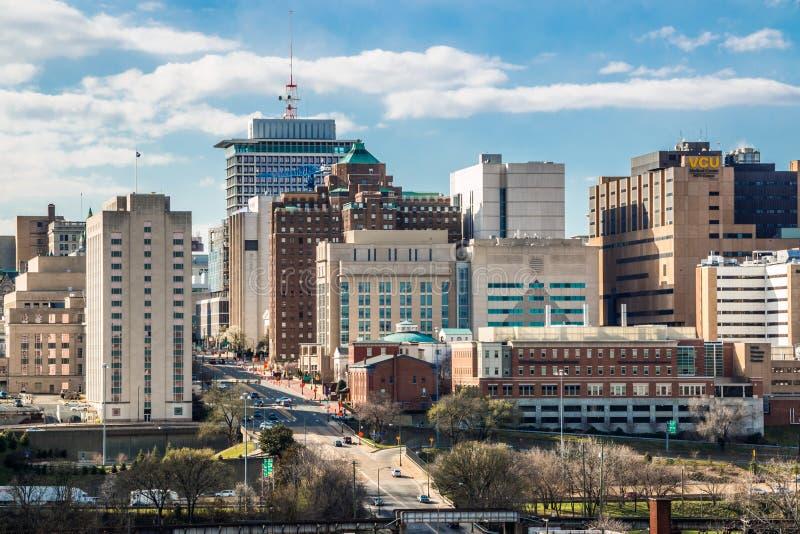 Im Stadtzentrum gelegenes Richmond Virginia stockfoto