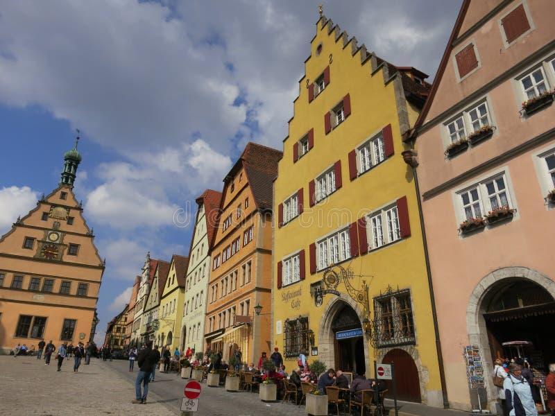 Download Im Stadtzentrum Gelegenes Rothenburg Ob Der Tauber Redaktionelles Bild - Bild von geschichte, phantasie: 26373020