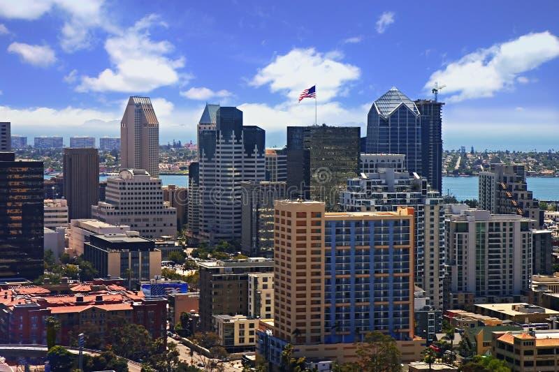 Im Stadtzentrum gelegenes San Diego stockfotos