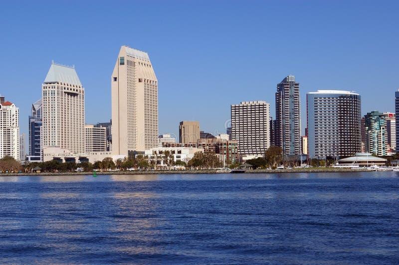 Im Stadtzentrum gelegenes San Diego stockfoto