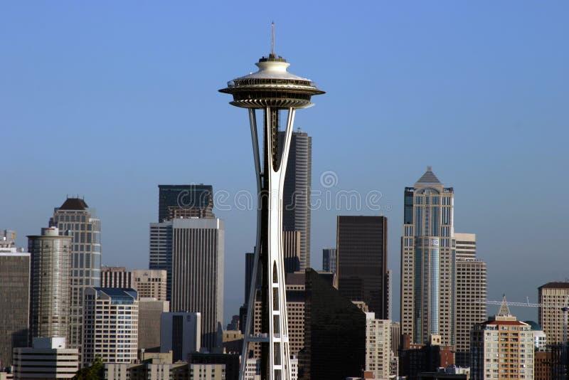 Im Stadtzentrum gelegenes Seattle Washington USA lizenzfreie stockfotografie