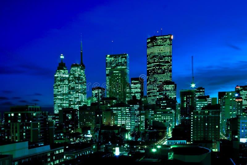 Im Stadtzentrum gelegenes Toronto stockfoto