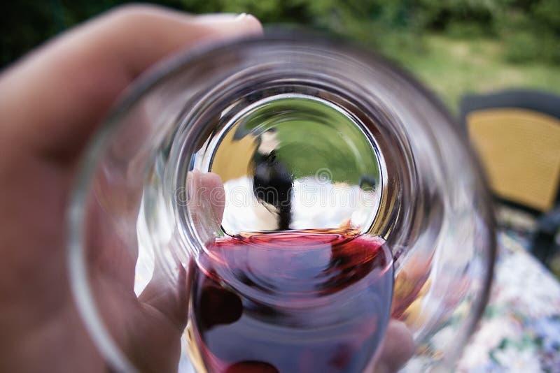Im Vino Veritas lizenzfreie stockfotografie