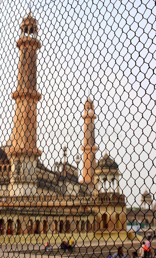 Imaambara de Bada, cidade de lucknow, india fotos de stock royalty free