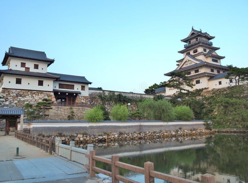 Imabari-Schloss in Imabari, Ehime-Präfektur, Japan lizenzfreies stockfoto