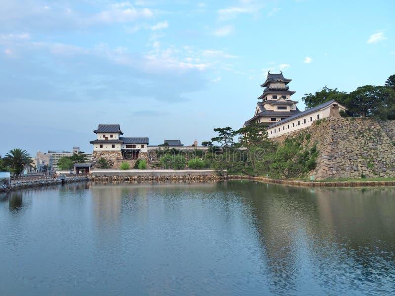 Imabarikasteel in Imabari, Ehime-Prefectuur, Japan royalty-vrije stock foto