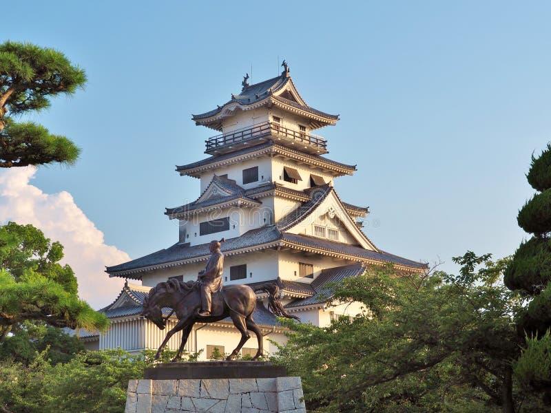 Imabarikasteel in Imabari, Japan royalty-vrije stock afbeeldingen