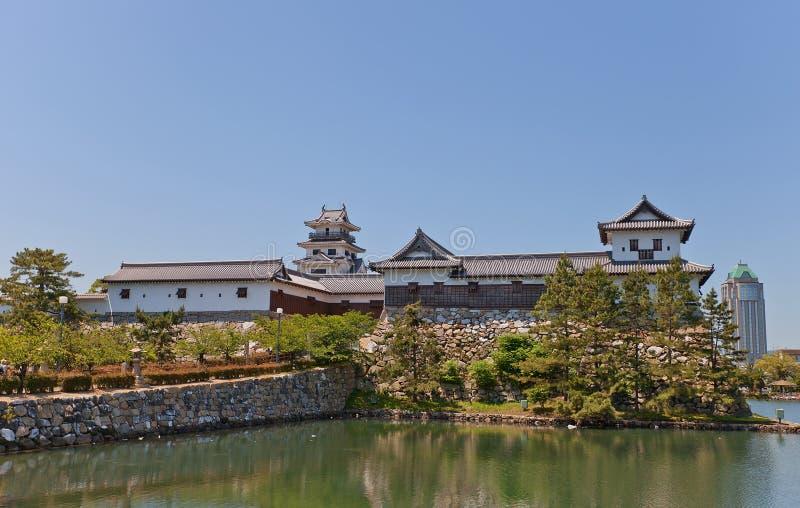 Imabarikasteel, Imabari, Shikoku-Eiland, Japan royalty-vrije stock fotografie
