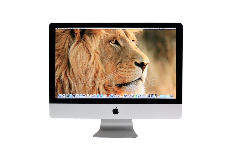 imac настольного компьютера компьютера новое стоковая фотография rf