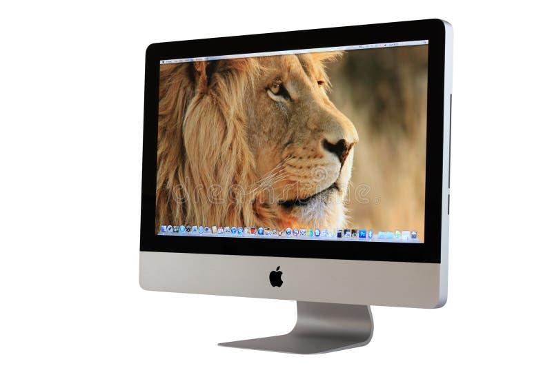 imac настольного компьютера компьютера новое стоковые фото