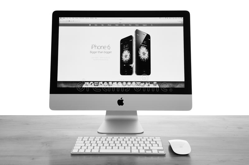 Imac computer stock photos