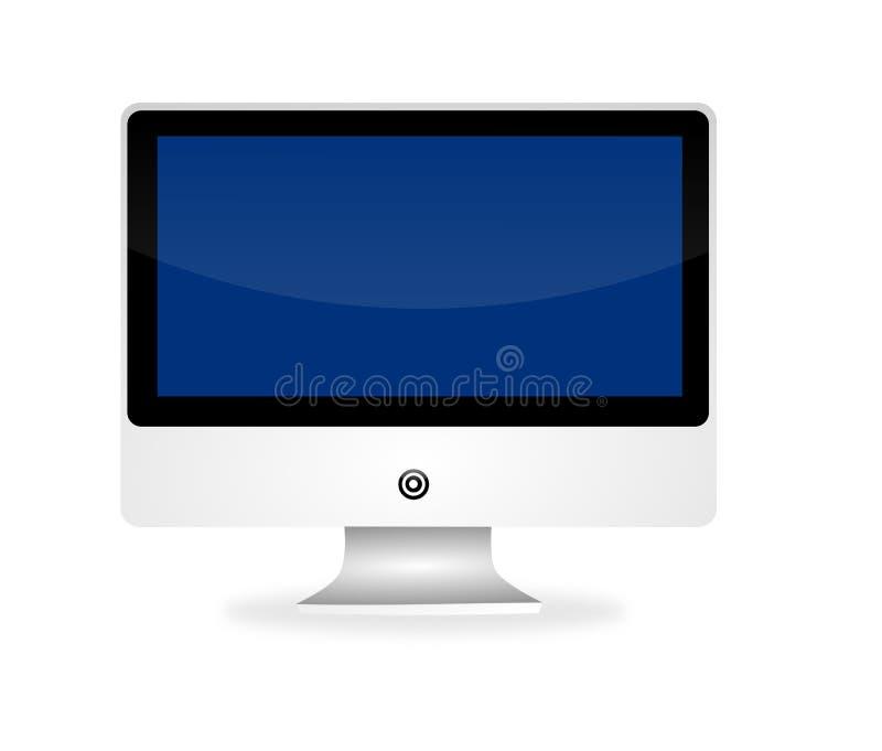 Imac de Apple ilustração stock