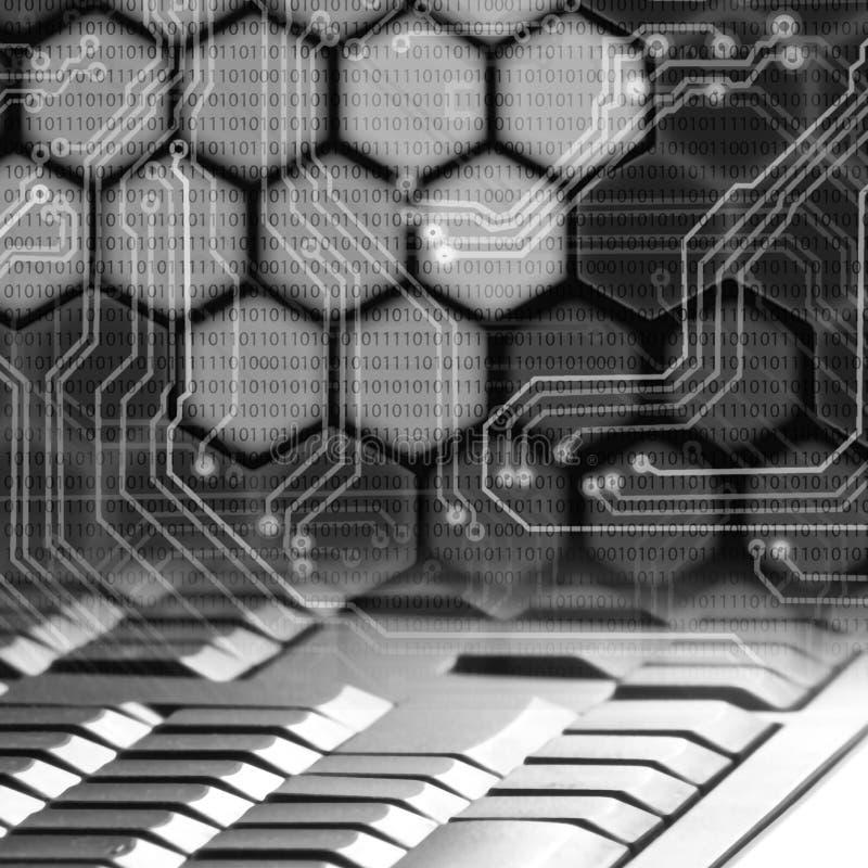 Image of abstract keyboard closeup. Image of abstract keyboard close up stock illustration