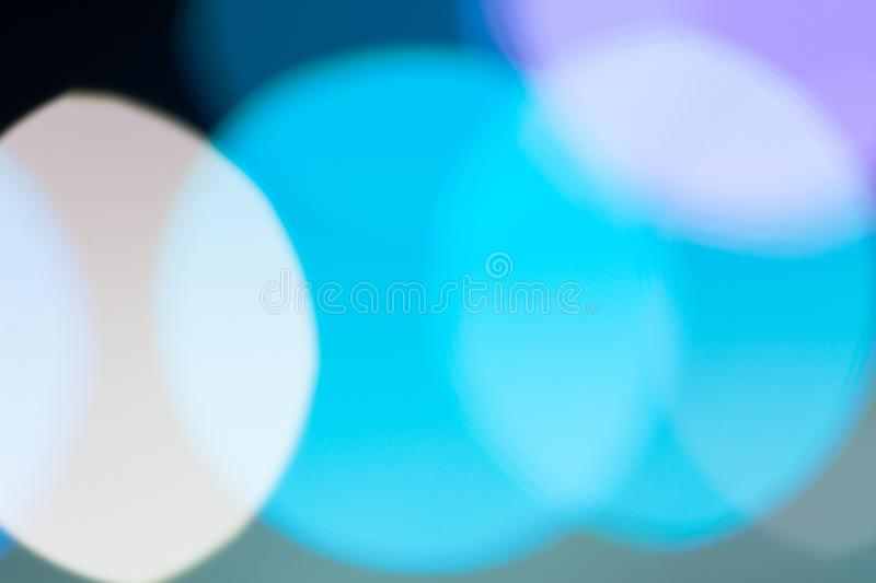Image of abstract texture, light blue bokeh background with copy space royalty free stock photo