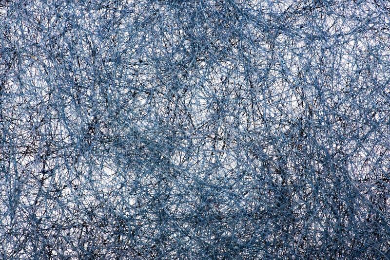 Image abstraite d'une pluralité de fils entrelacés images stock