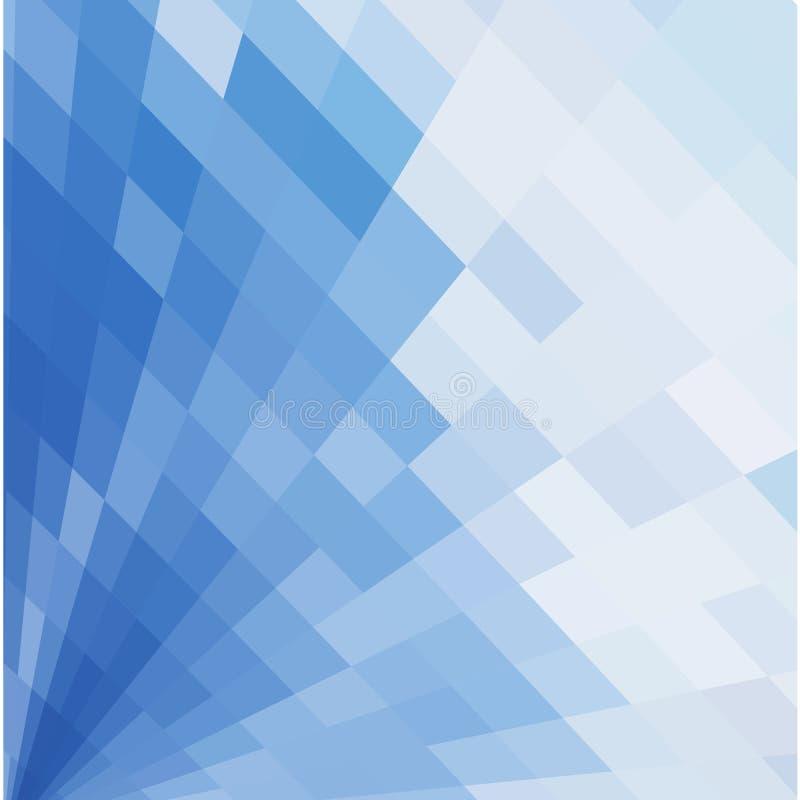Image abstraite des places bleues illustration stock