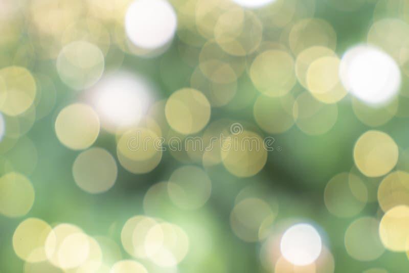 Image abstraite - fond de bokeh de couleur de ton de Chrismas image libre de droits