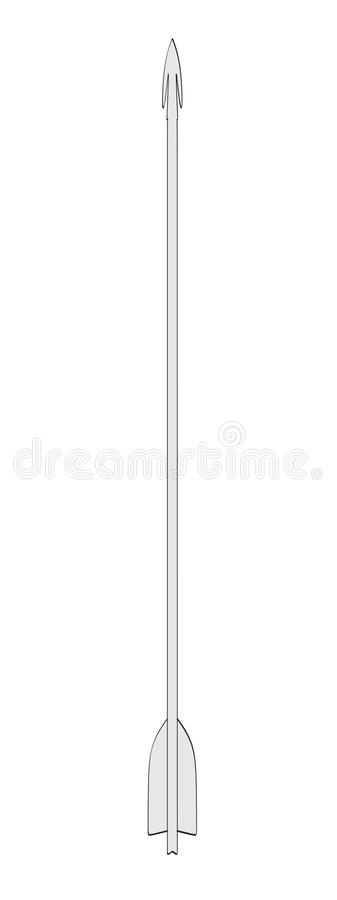 Image Of Arrow (for Bow) Royalty Free Stock Image