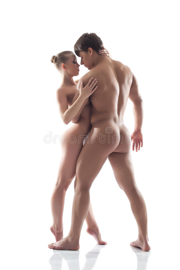 attractive nude men and women