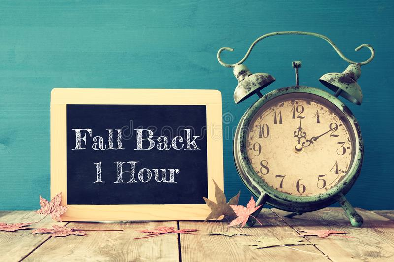 Download Image Of Autumn Time Change. Fall Back Concept Stock Photo - Image of alarm, antique: 99337568