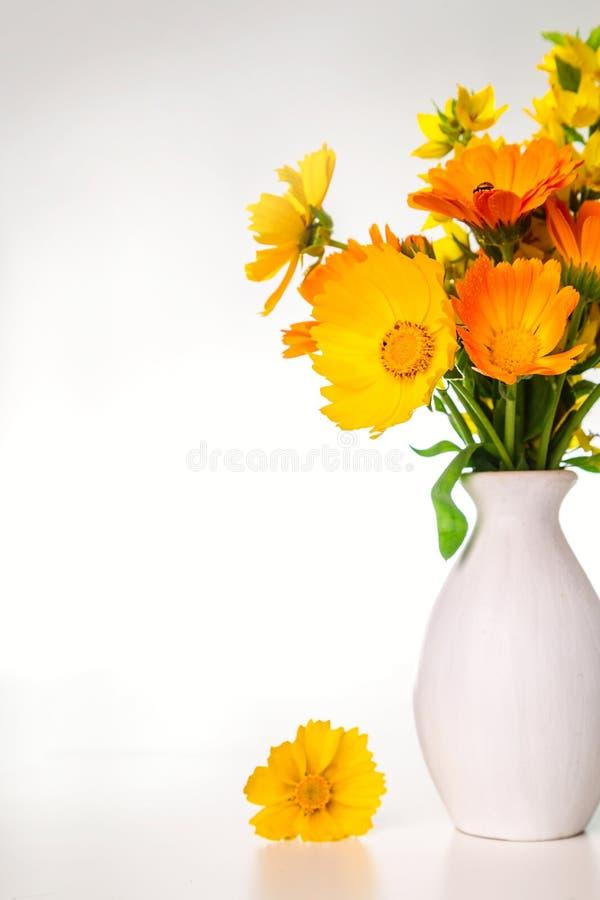Image avec un bouquet image stock
