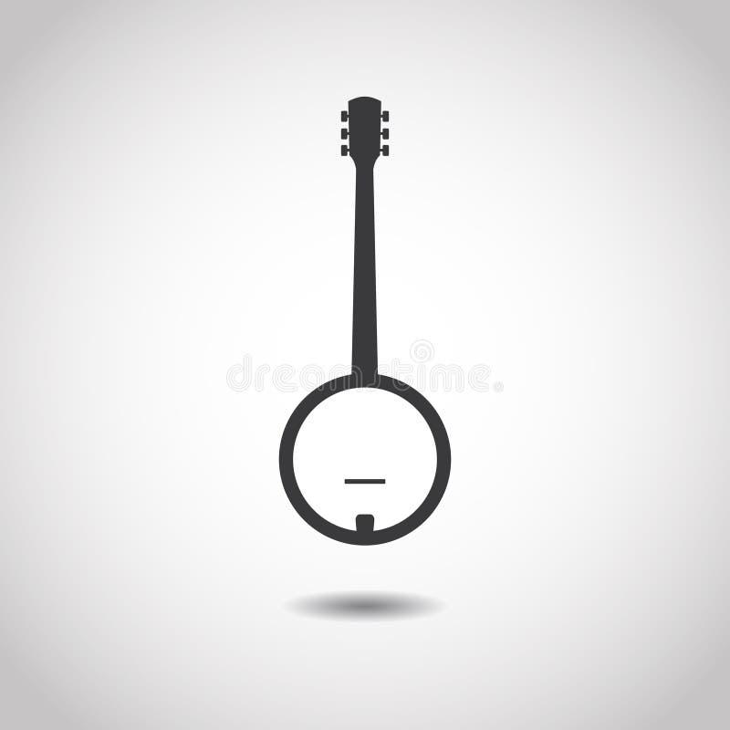 Image of a banjo royalty free illustration