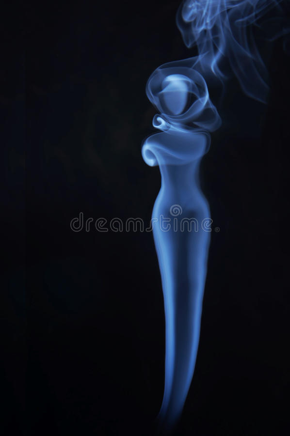 Download Image Of Beautiful Lady Made Of Fume Stock Photo - Image: 30081358