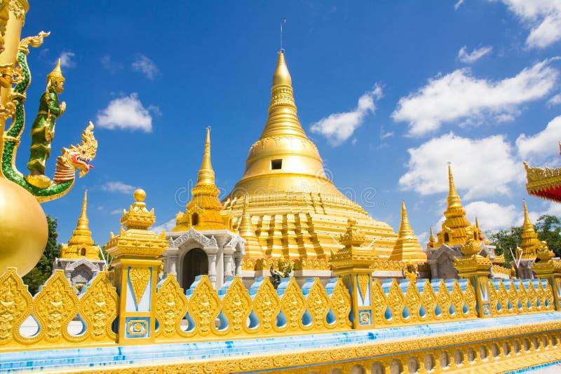 Beautiful pagoda in temple royalty free stock photo