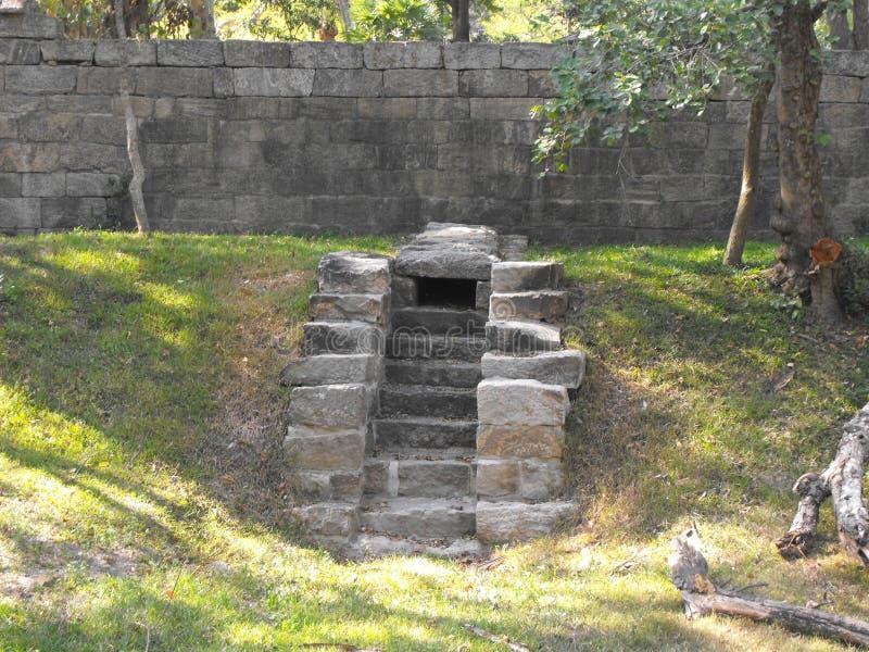 THIS IS IMAGE BEAUTIFUL YAPAHUWA ROCK FORTRESS OF SRI LANKA. SRILANKAN BEAUTIFUL YAPAHUWA ROCK FORTRESS OF KURUNEGALA stock photos
