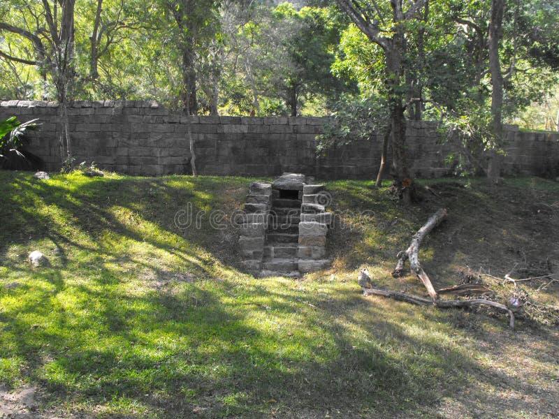 THIS IS IMAGE BEAUTIFUL YAPAHUWA ROCK FORTRESS OF SRI LANKA. SRILANKAN BEAUTIFUL YAPAHUWA ROCK FORTRESS OF KURUNEGALA royalty free stock image