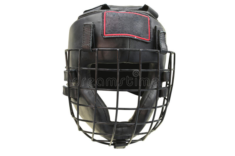 Boxing helmet. The image of boxing helmet stock image