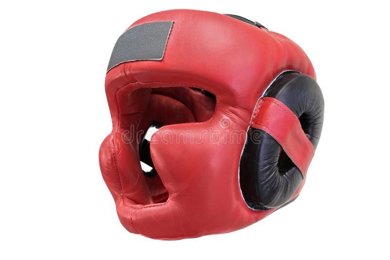Boxing helmet. The image of boxing helmet stock photo