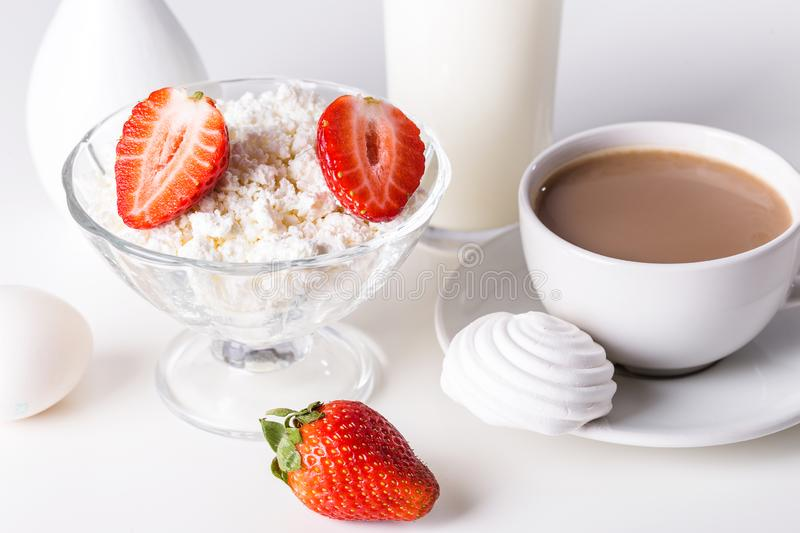 Image with breakfast royalty free stock image