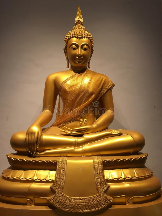 Image of buddha at chonburi thailand stock image
