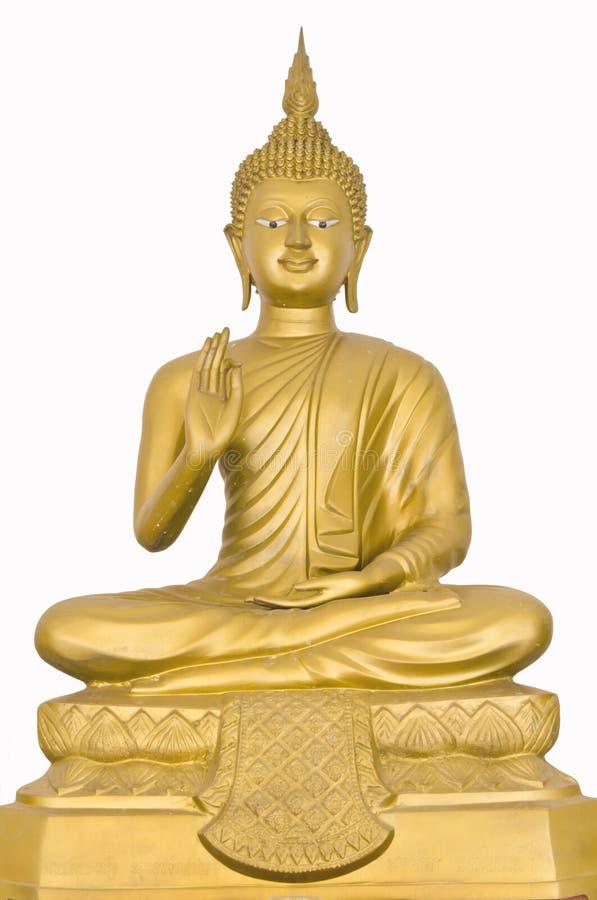 Image of buddha is sitting royalty free stock image