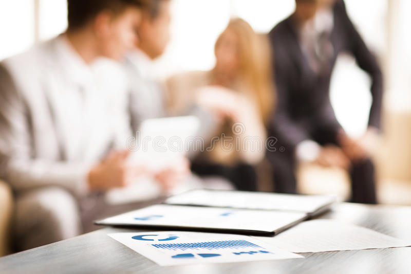 Image of business documents stock image