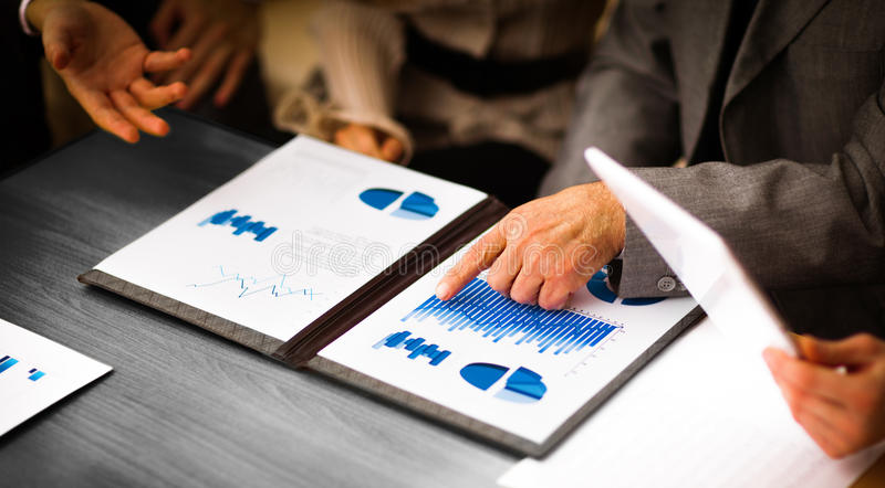 Image of business documents royalty free stock photo