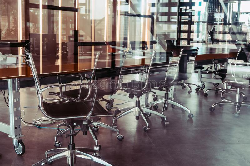 View of Business meeting room royalty free stock images